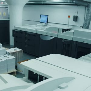 on-demand digital mail printing production