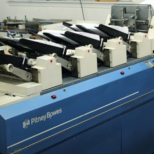 pitney bowes mail printing and production