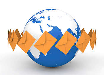 international mail processing services